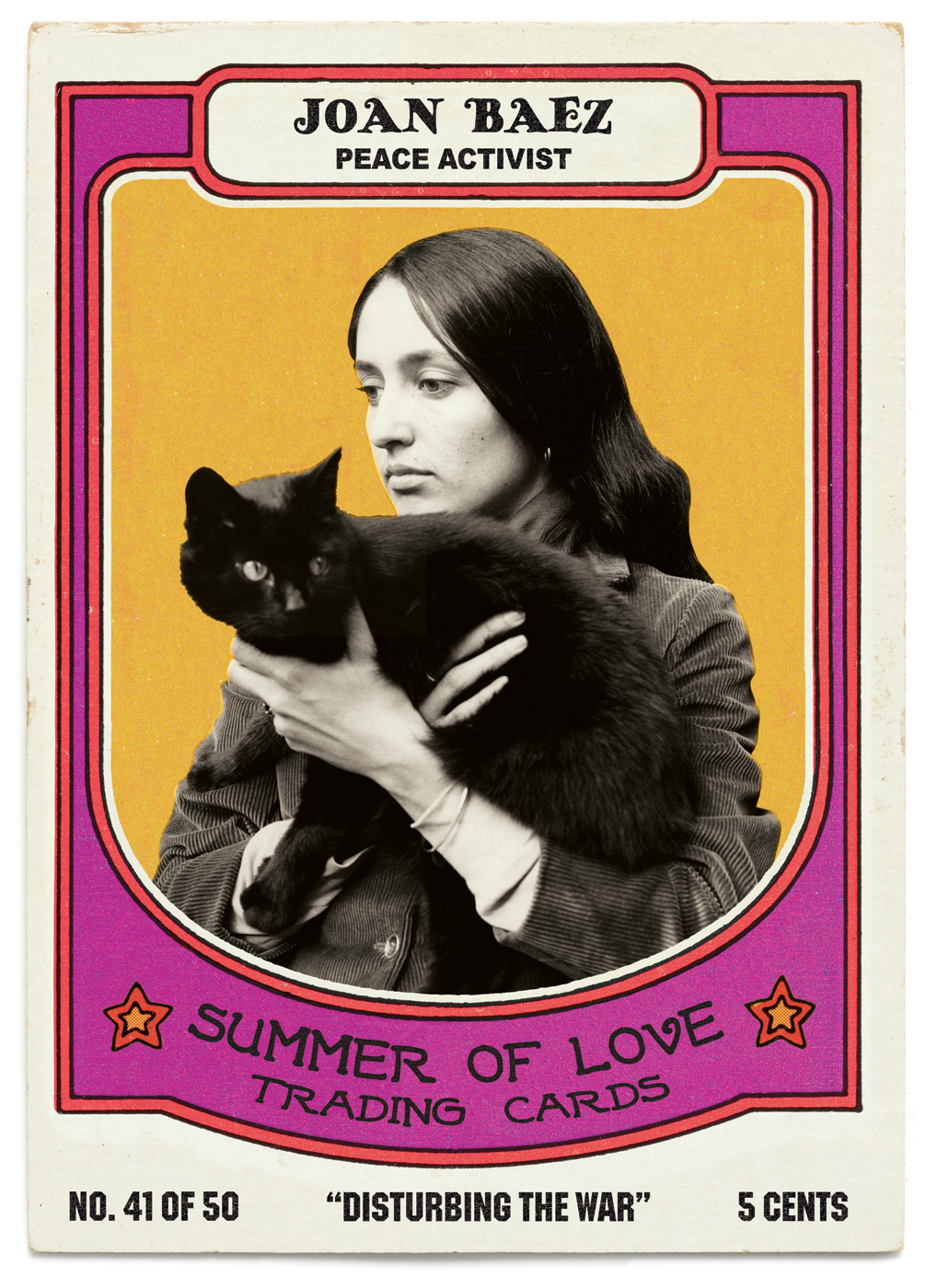 SFAC Summer of Love Trading Cards